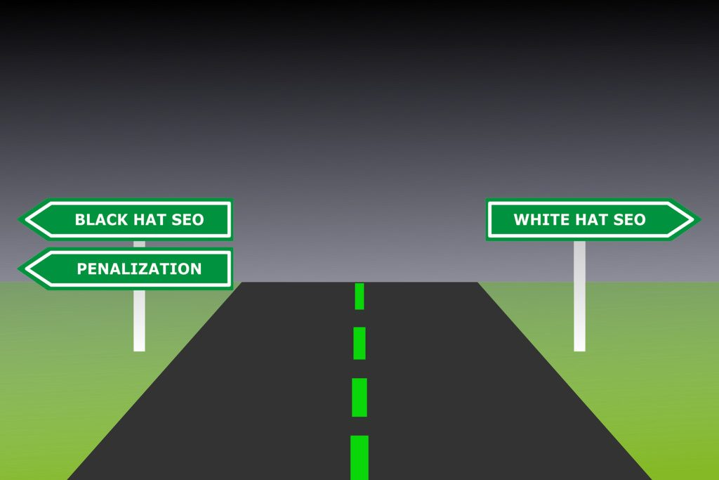 getting traffic through white hat SEO