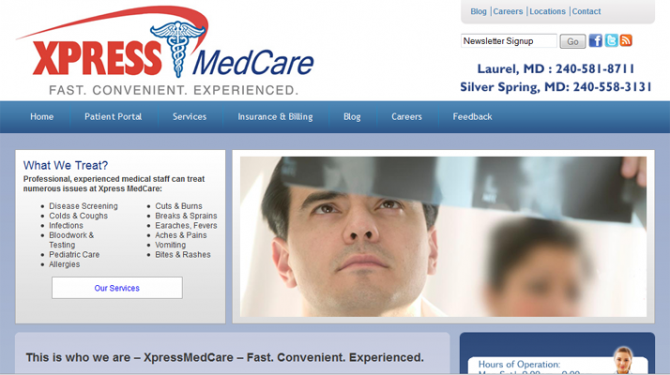 Xpress Medcare SEO